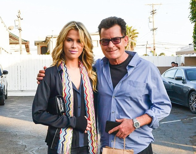CHARLIE SHEEN'S NEW GIRLFRIEND JULIA STAMBLER, 26, 'ISN'T LIVING IN FEAR OF THE ACTOR'S HIV'... AFTER BEING LEFT HURT BY HER FRIENDS' STARK WARNINGS